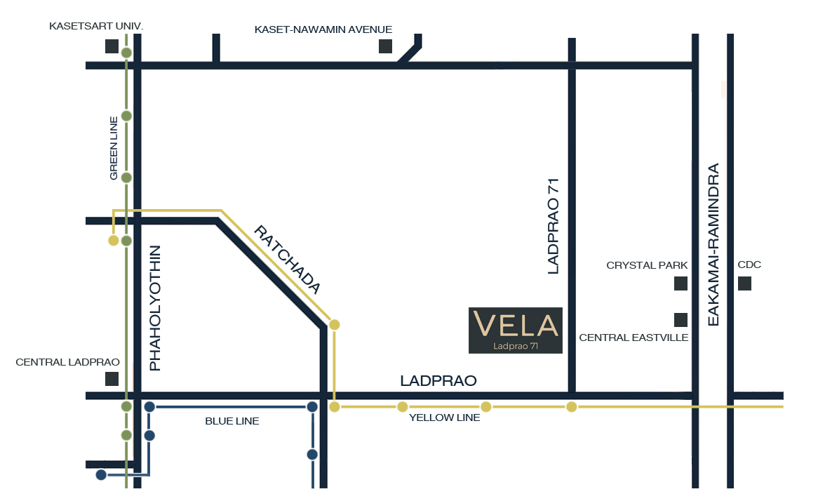 VELA Ladprao 71 by Time Property Location